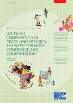 UN-EU-AU cooperation in peace and security