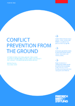 Conflict prevention from the ground